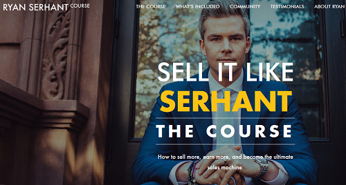 Ryan Serhant – Sell It Like SERHANT – The Course