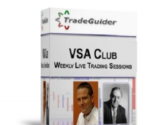 Tradeguider VSA Club - Weekly Live Trading Sessions