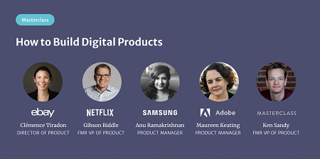 Product Masterclass – How to Build Digital Products Course